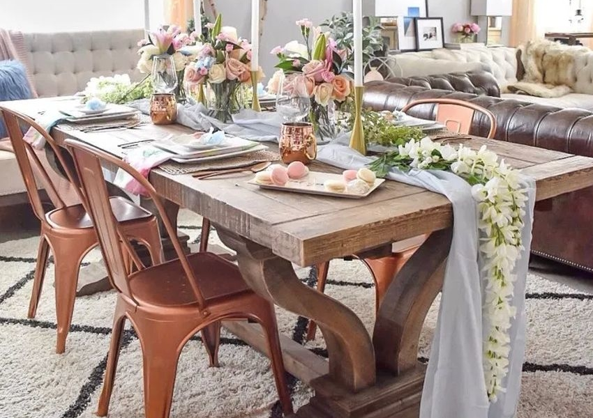 Refresh Your Dining Table with These Spring Tablescaping Trends
