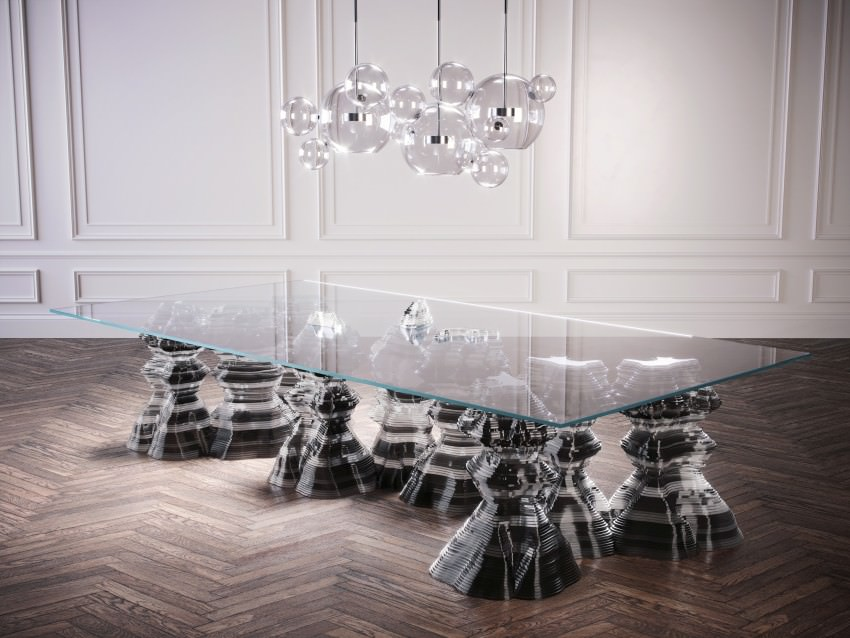 Stalagmite Table by Christopher Duffy of Duffy London