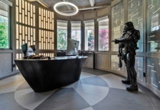 Star Wars-Themed Home Office in Sacramento, California