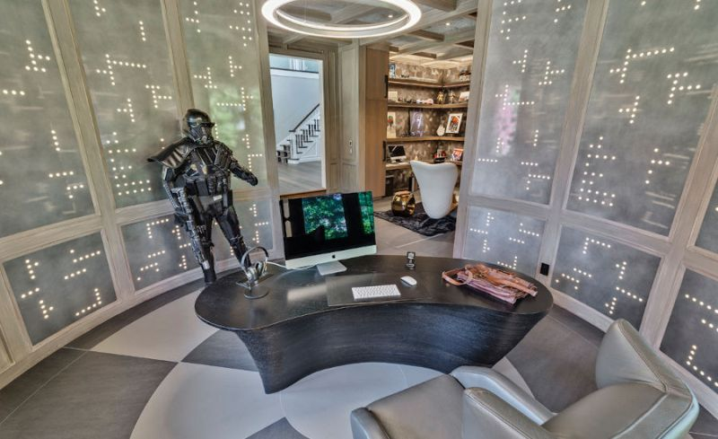 Star Wars-Themed Home Office in Sacramento, California