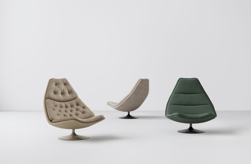 Studio TK Introduces F500 Chair Designed by Geoffrey Harcourt