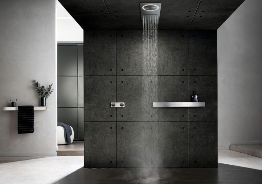 Tectonic Showers by Rogerseller come with Exhaust Fan and Lights