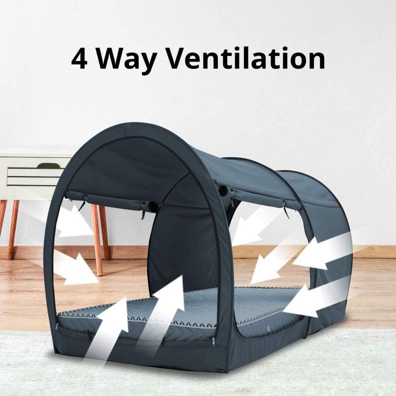 Leedor Bed Tent Lets You Camp Indoors
