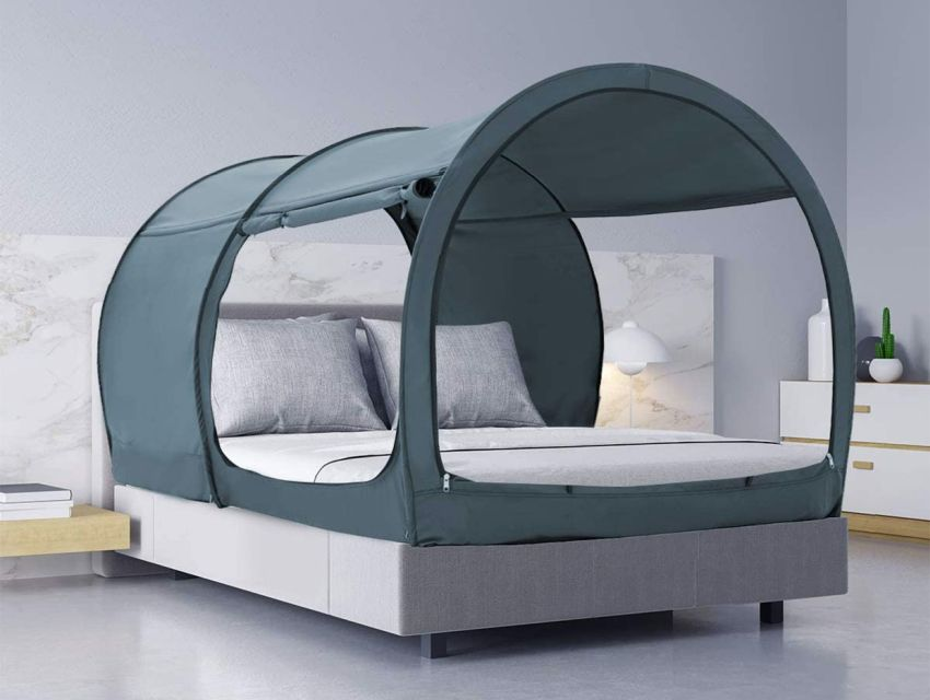 Leedor Bed Tent Lets You Camp Indoors