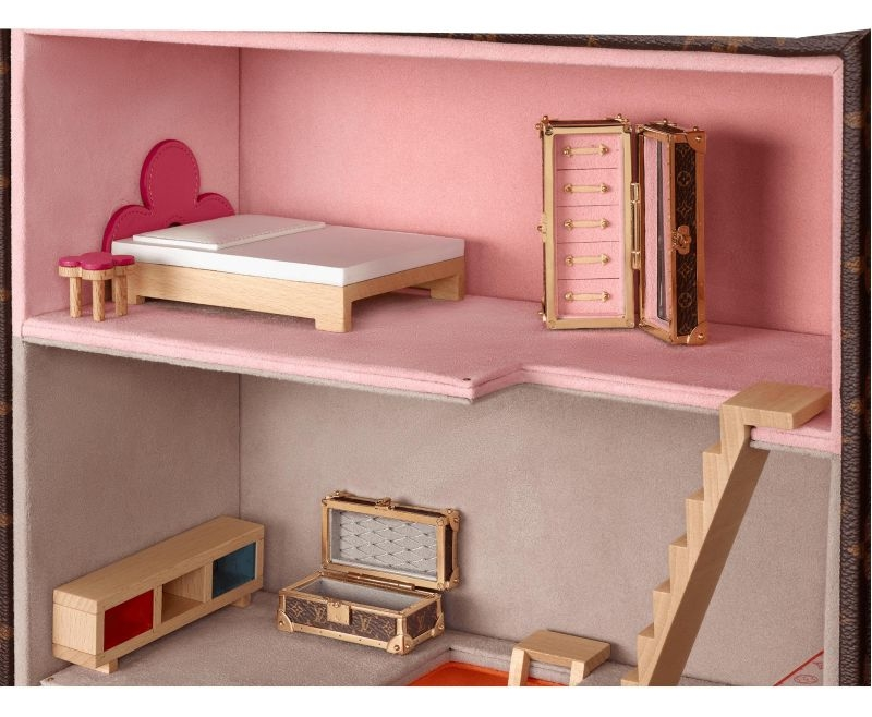 Louis Vuitton Launches New Malle Maison Vivienne Dollhouse