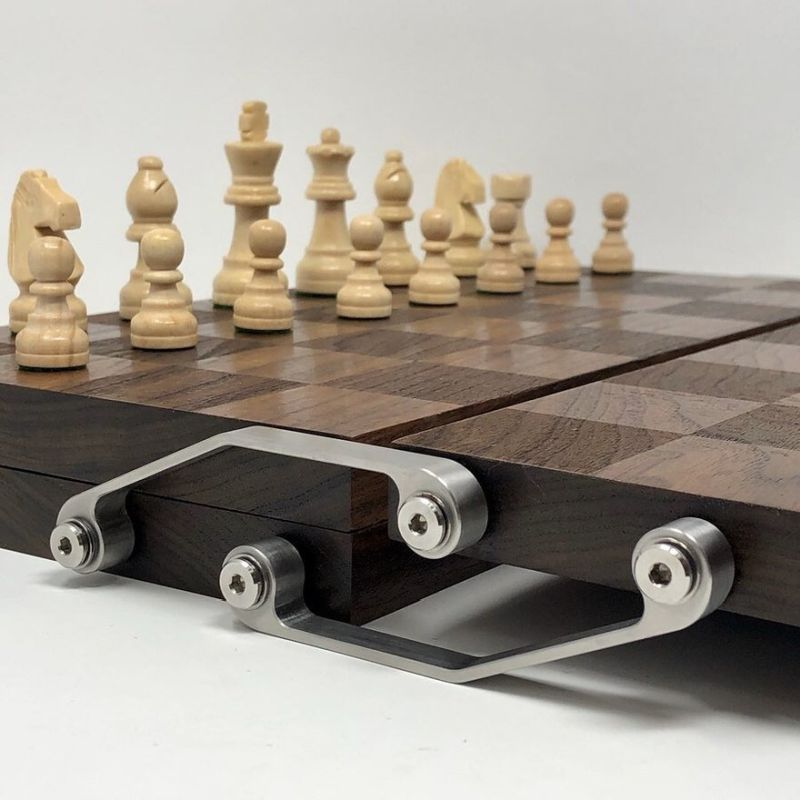 Origami-Inspired Unfolding Chess Board