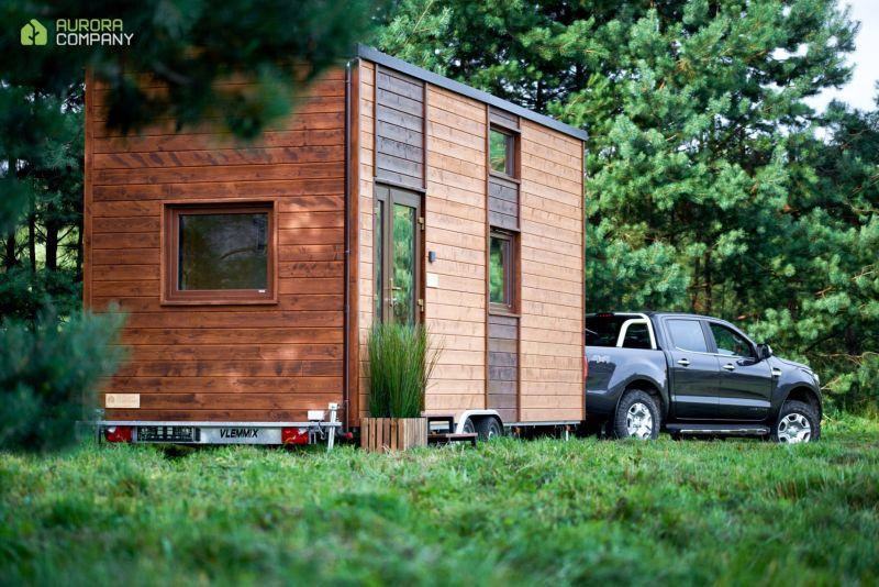 Poland-Based Aurora Company Offers All-Season Tiny Houses