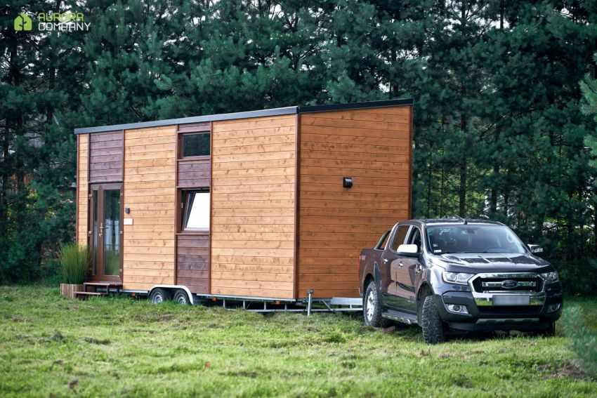 Poland-Based Aurora Company Offers All-Season Tiny Houses