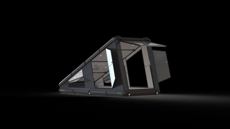 Redtail Overland Introduces Fully Hard-Sided Rooftop Camper