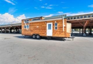 Tiny Idahomes Custom Builds Clear Creek Tiny House for Mimi