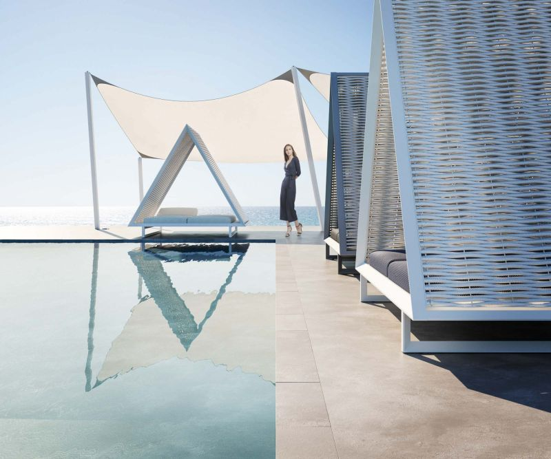 Vineyard Daybed by Vondom will Elevate Your Outdoor Living Space