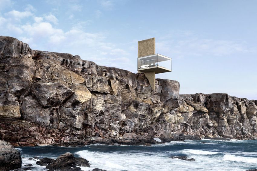 Yakusha Design Comes up with Unique Cliff House Concept