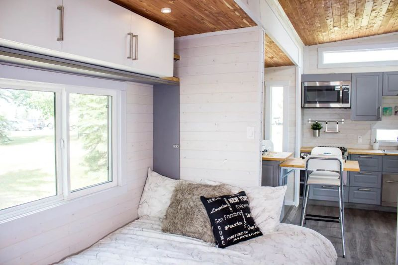 You can Rent This Tiny House by Zero Squared at Airbnb