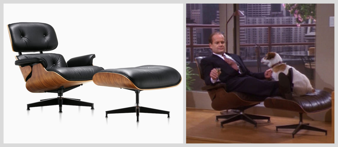 Eames-Lounge-Chair-Famous Chairs in Movies and Pop Culture