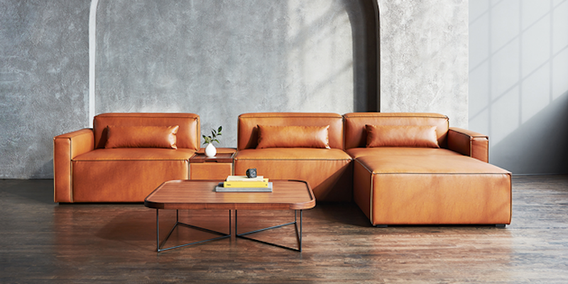Vegan Appleskin Leather Furniture by Gus Modern