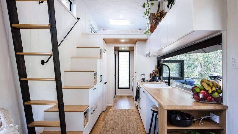 Australian Couple Moved to a Tiny House & Explored Perfect Way to Live