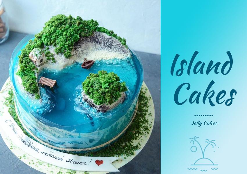 Jelly Island Cakes