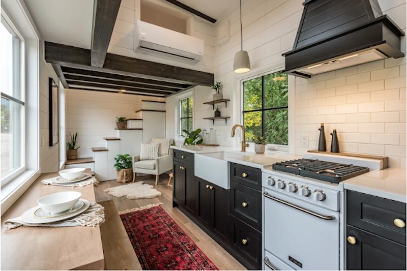 Modern Bohemian tiny house
