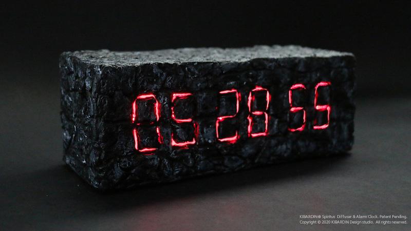 Spiritus-Diffuser-Alarm-Clock by KIBARDIN Design Studio