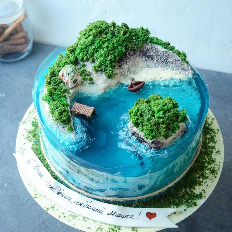 These Jelly Island Cakes are Best Dessert Trend of 2020
