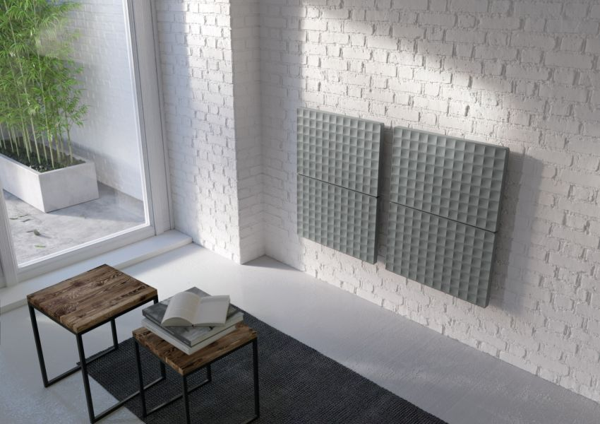 Waffle Designer Radiator by Piero Lissoni for Antrax IT