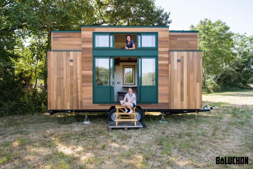 Baluchon Builds Kiwi Tiny House as Vacation Rental