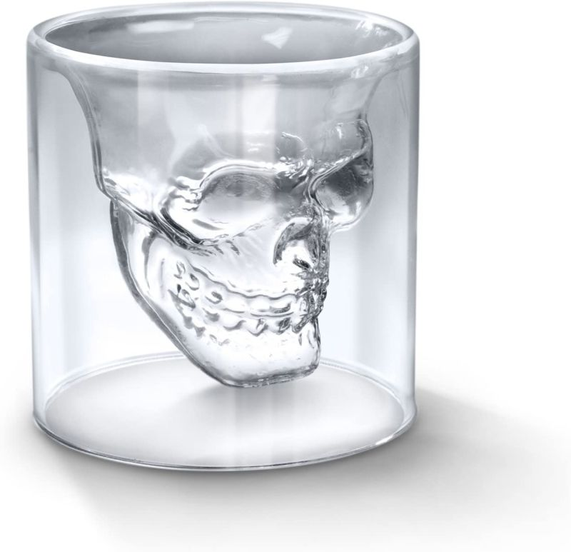 Impress Your Friends with This Unique Skull Shot Glass