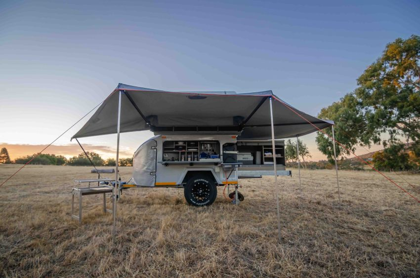 Mobi X All-Terrain Camper can Sleep up to Six People