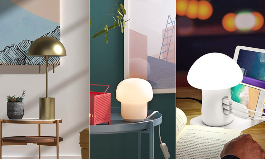 Mushroom-Lamps