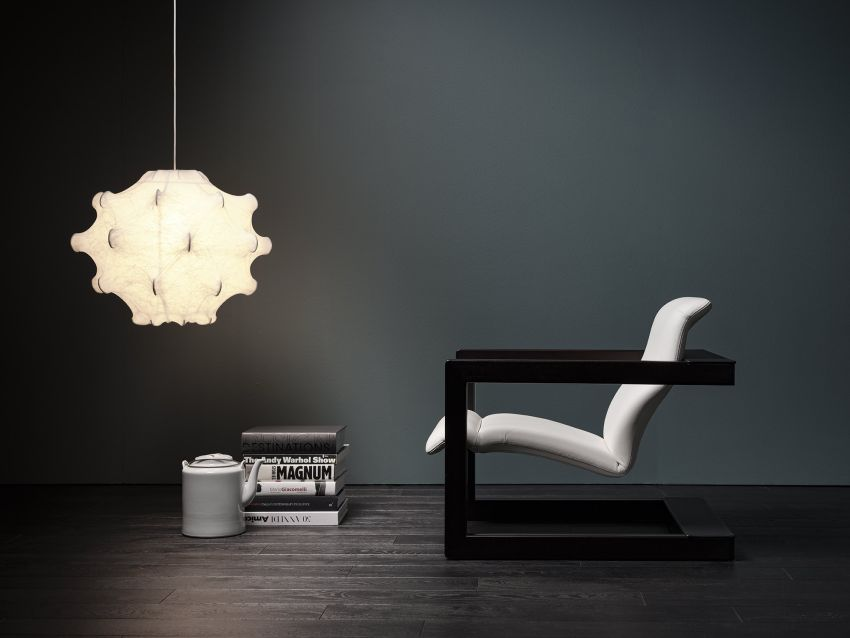 Palco Armchair by Bruno Rainaldi for Mussi Combines Comfort and Style