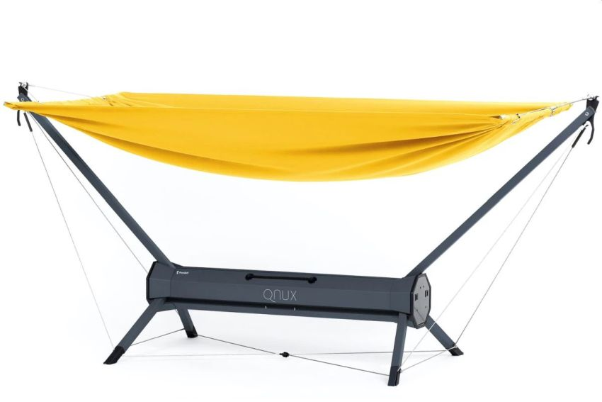 Pondell QNUX Packs within Features of a Freestanding Hammock