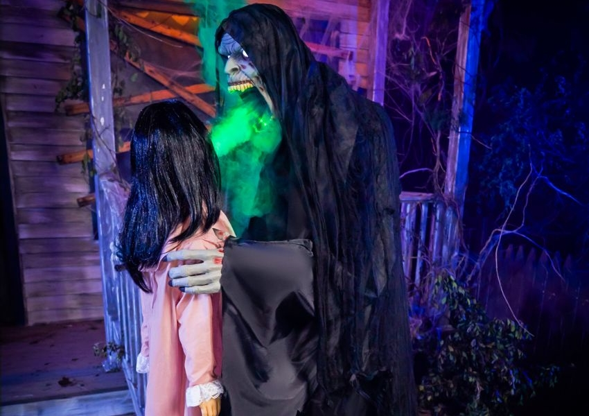 "Spirit Halloween Launches ""Harvester of Souls"" Animatronic for 2020"
