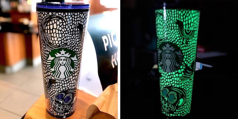 Starbucks Halloween Tumbler