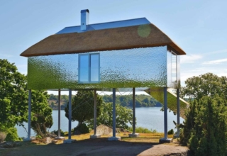 SynVillan Mirror Cabin is Newest Addition at Eriksberg Nature Reserve