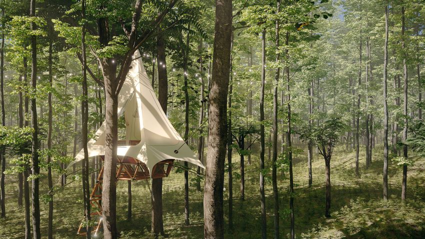 You can Start Vacation Rental Business with Treewalkers by O2 Treehouse