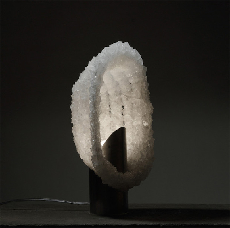 Alumina Salt Lamp by Thomas Carlier
