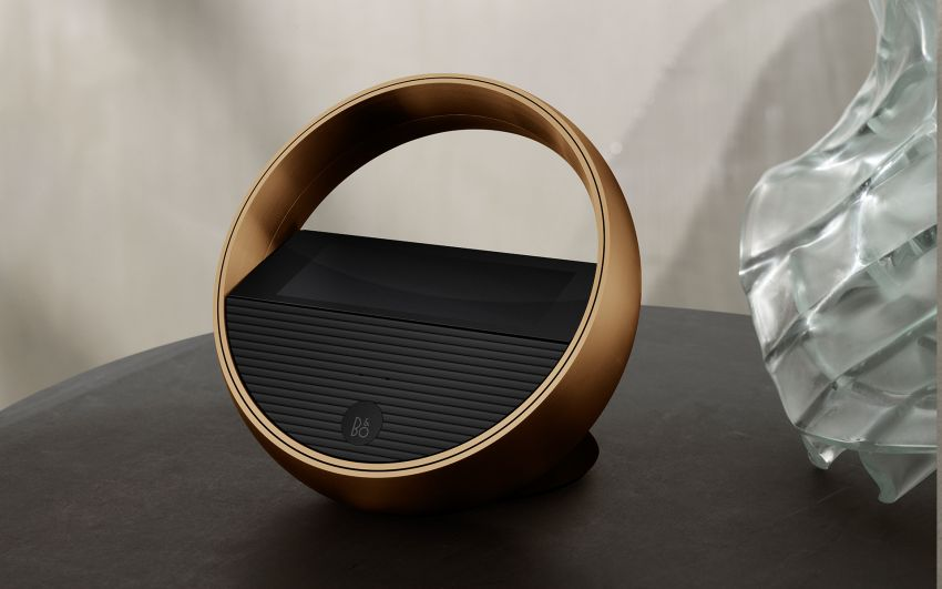Beoremote Halo is a Remote Control for Bang & Olufsen Speakers