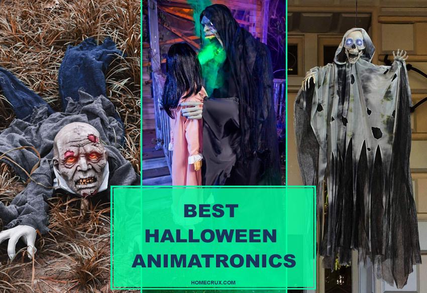 Best-Halloween-Animatronics - Animated Halloween Props- Decorations
