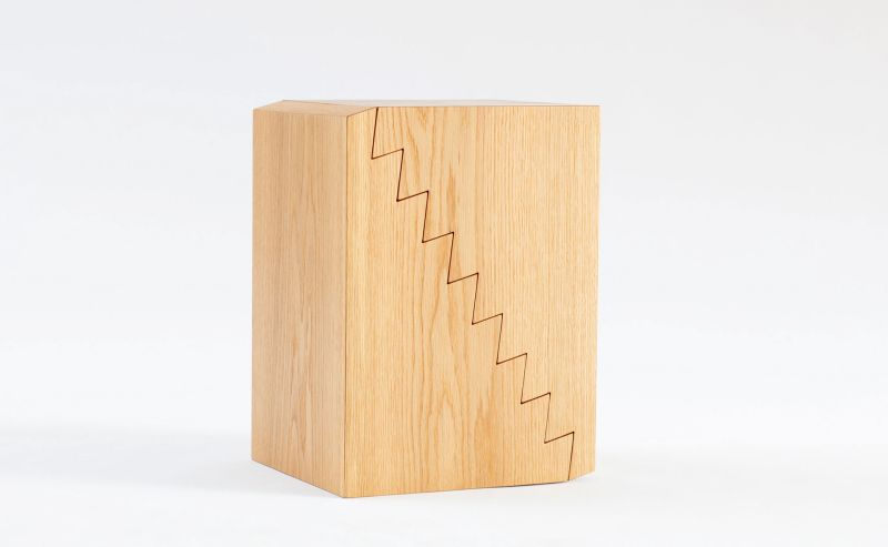 Bjarke Ballisager Designs Creative Height-Adjustable Side Table