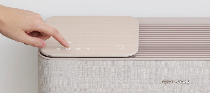 Fuseproject Designs Coway Icon Air Purifier that Blends into Home