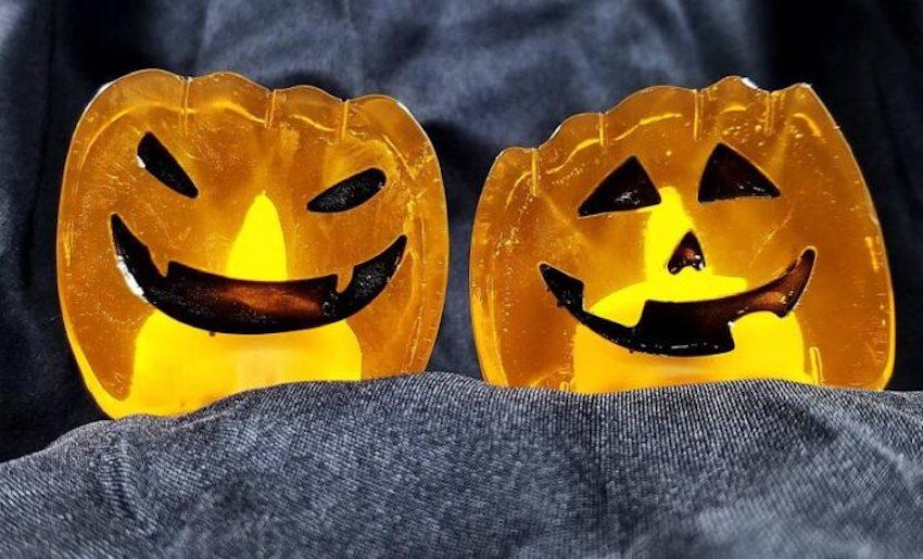 Halloween Pumpkin Soaps