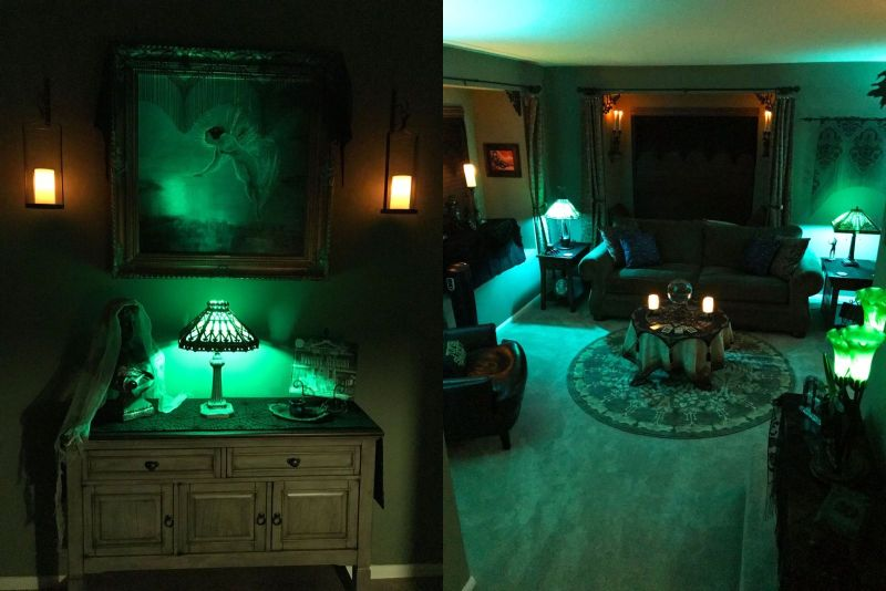Paul Messerle Transforms His House into Haunted Mansion for Halloween