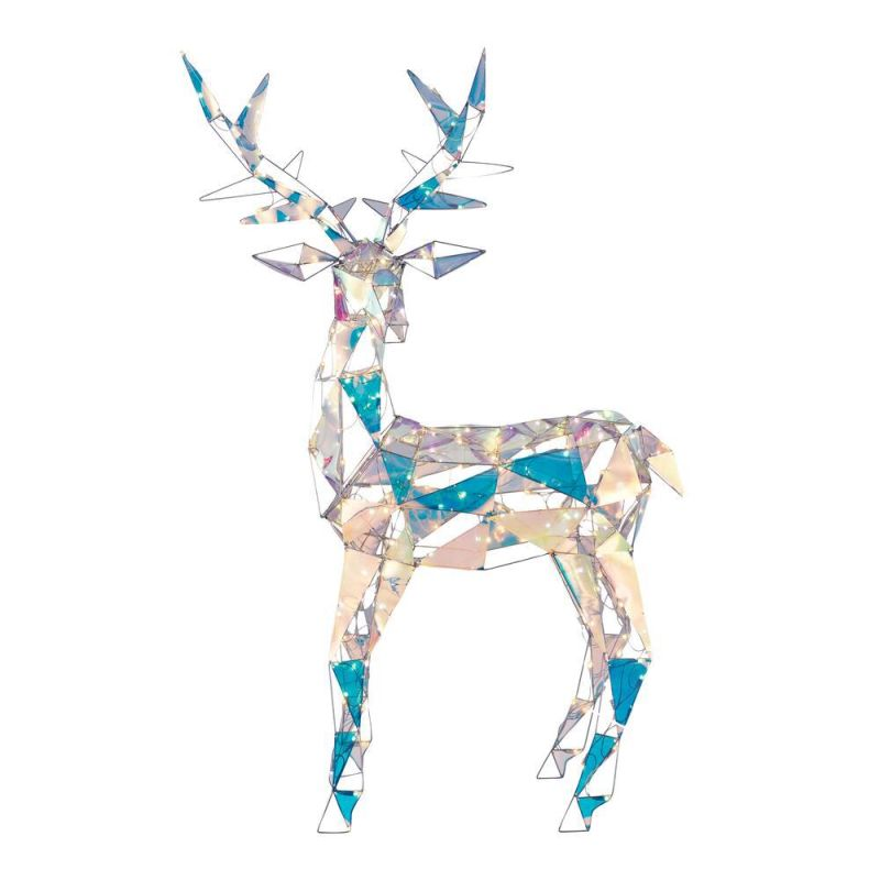 HomeDepot Launches Life-Size Iridescent Reindeer Christmas Decoration