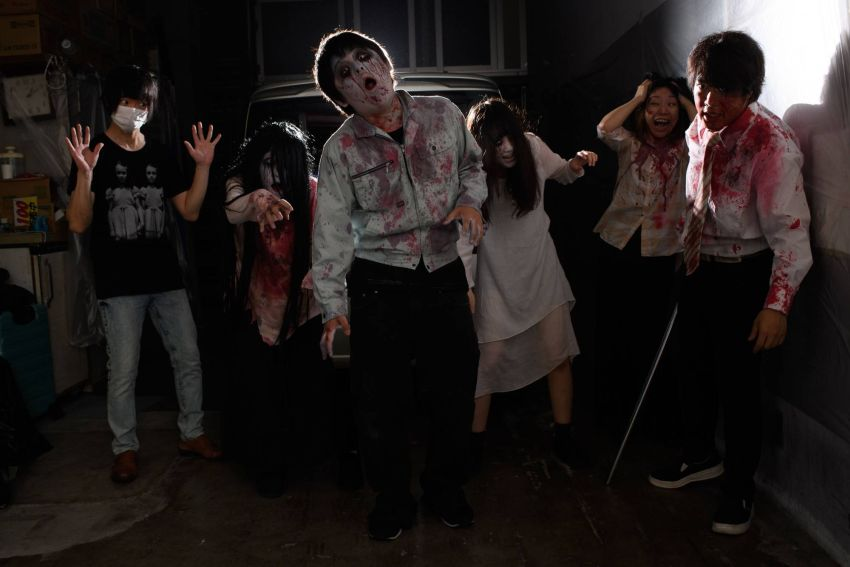 Japanese Company Offering Drive-In Haunted House Experience