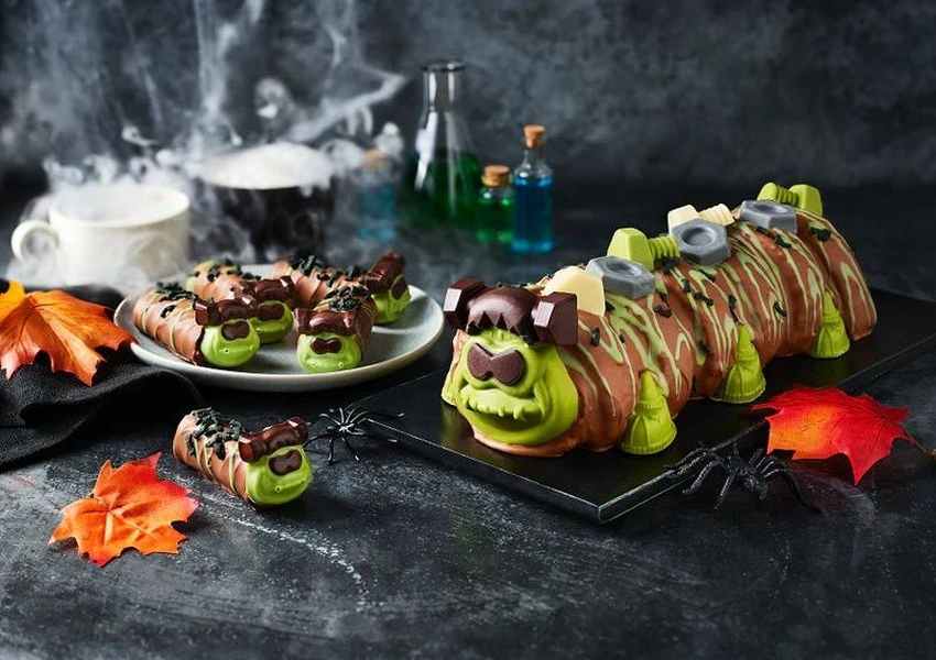 M&S Launches Frankencolin Cake for Halloween