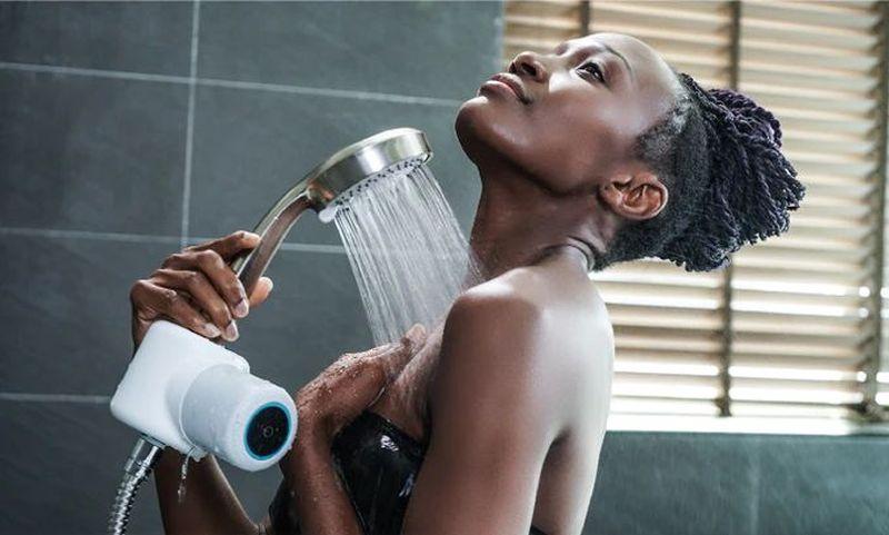 Shower Power Speaker Charges Itself Through Running Water