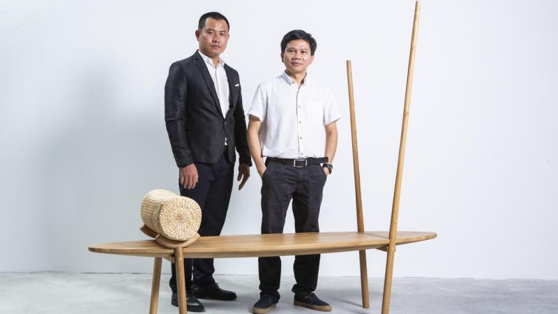 This Exclusive Bench is Inspired by Vietnam's Inimitable Culture
