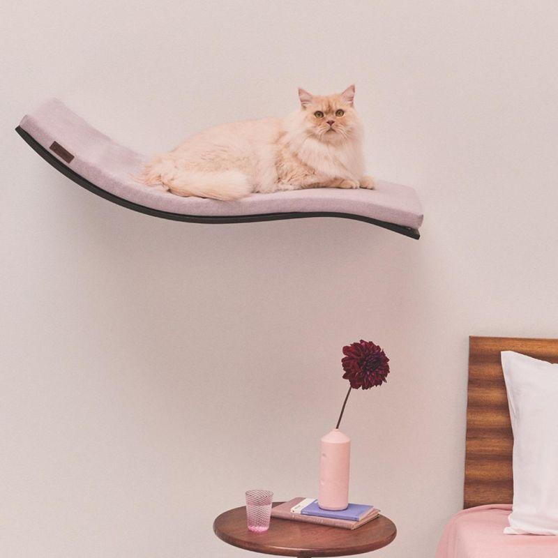 Wall Shelf Cat Bed