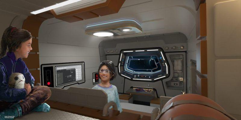 Star Wars-themed Galactic Starcruiser resort