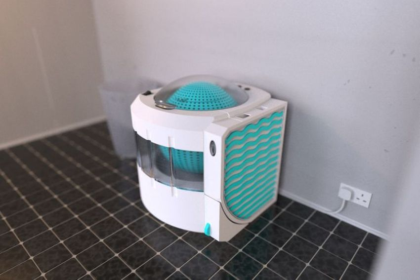 Lava Aqua X Portable Washing Machine Reuses Water from Shower